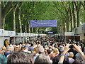 TQ2878 : Chelsea Flower Show entrance queue by Oast House Archive