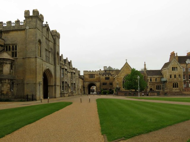 The Cathedral grounds in Peterborough