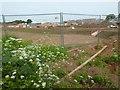 SO8548 : Elgar Park construction site by Philip Halling