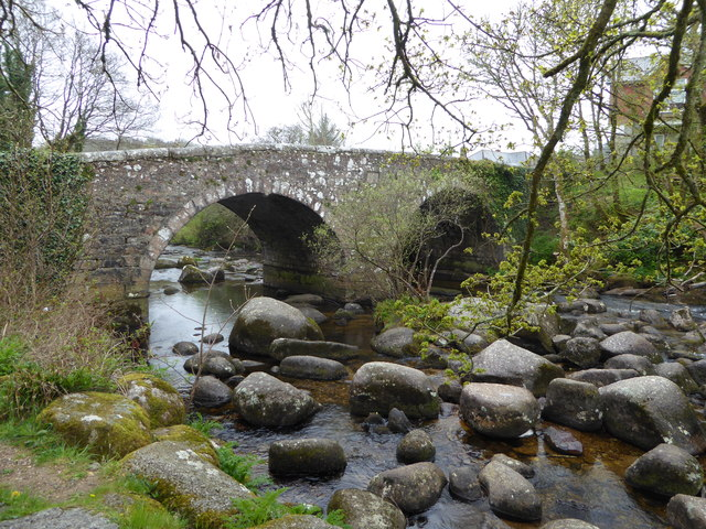 The bridge at Dartmeet