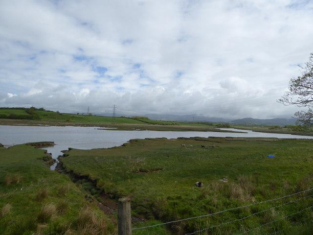 The estuary of the River Mite