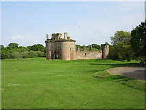 NY0265 : Caerlaverock Castle by Euan Nelson