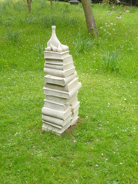 """Pyramid"" at Cheeseburn Sculpture Exhibition"