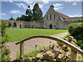 SU3802 : Beaulieu Abbey Cloisters and Refectory (Parish Church) by David Dixon
