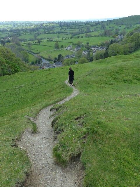 Descent to Carsington