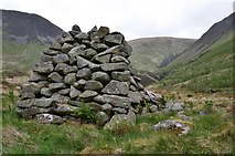 NT1513 : The upper glen from the cairn, Carrifran by Jim Barton