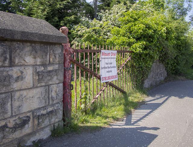 BWC gate, Belfast