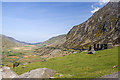 SH6460 : North Wales WWII defences: Nant Ffrancon - anti-tank blocks (1) by Mike Searle
