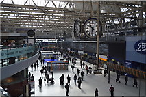 TQ3179 : Waterloo Station concourse by N Chadwick