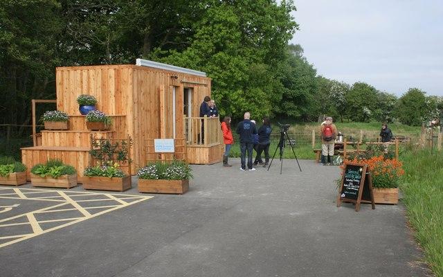 The new hub, RSPB Loch Lomond