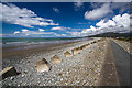 SH6112 : North Wales WWII defences: Fairbourne - anti-tank blocks (5) by Mike Searle