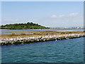 SZ0387 : Brownsea Island, The Lagoon by David Dixon