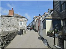 SW9980 : Fore Street, Port Isaac, Cornwall by Derek Voller
