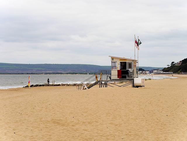 4e15b587a6c Lifeguard Hut on the Beach at Branksome... © David Dixon cc-by-sa ...