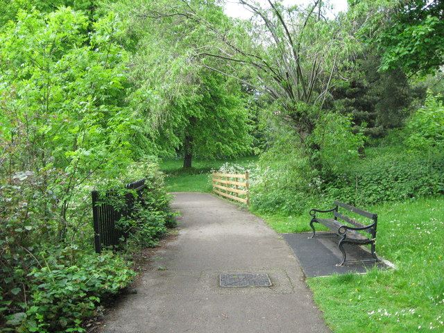 South lake path-Red House Park, Great Barr, Sandwell