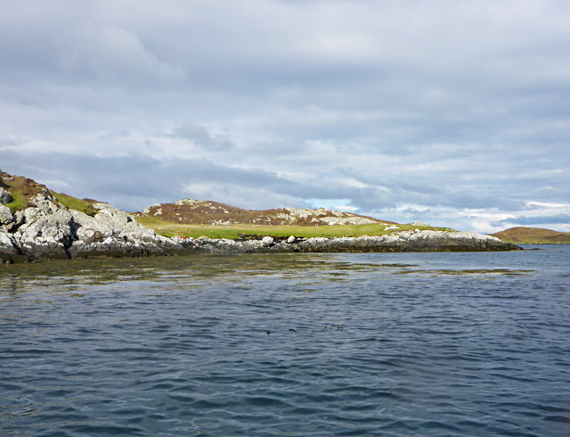 North Uist coastline facing Huanaraigh