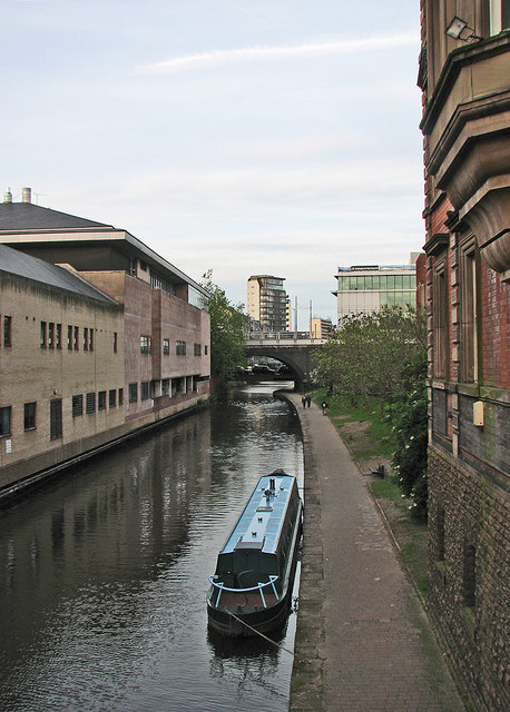 The canal from Carrington Street bridge