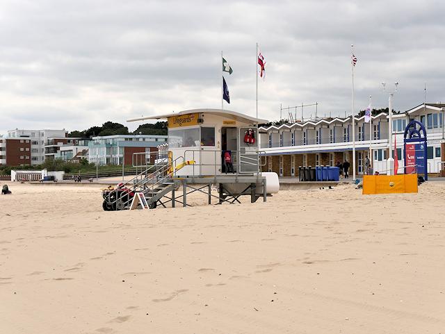a1c9bd7c07e Lifeguard Station at Sandbanks Beach © David Dixon cc-by-sa 2.0 ...