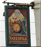SH5873 : Sign of the Tap & Spile by Gerald England