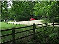 SU2808 : Swan Green car park by Hugh Venables