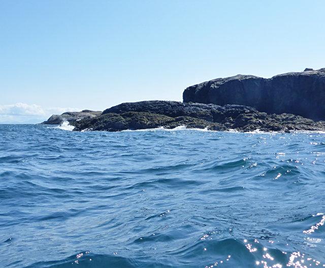 Northern limit of Uisinis