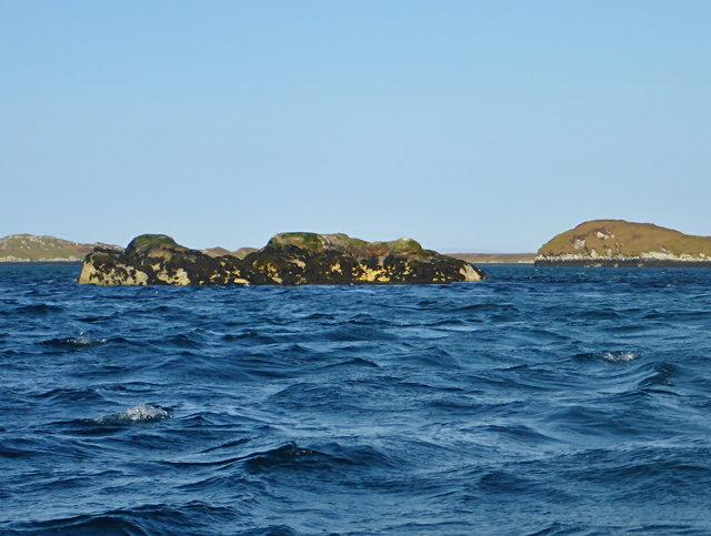 Islet off Eilean Dubh an Uan