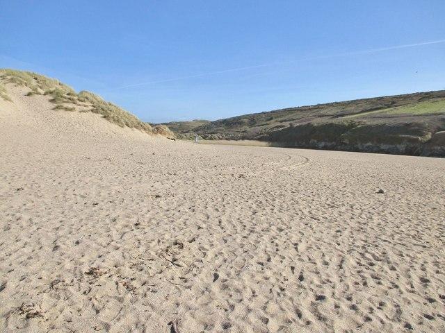 Holywell Dunes, Holywell, Cornwall