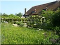 TQ5509 : Michelham Priory - Site of former cloister; now garden by Rob Farrow