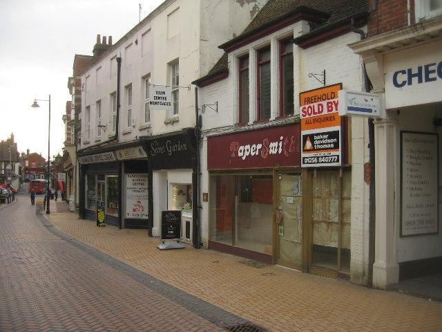 View along Winchester Street