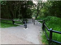 SE2436 : Path to Kirkstall Forge station by Stephen Craven