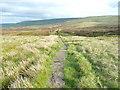 SE0706 : The Pennine Way across Wessenden Head Moor, Austonley by Humphrey Bolton