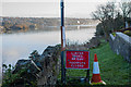 SH5571 : A closed bridleway by the Menai Straits by Oliver Mills