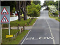 SU3506 : B3056 near Beaulieu Road Station by David Dixon