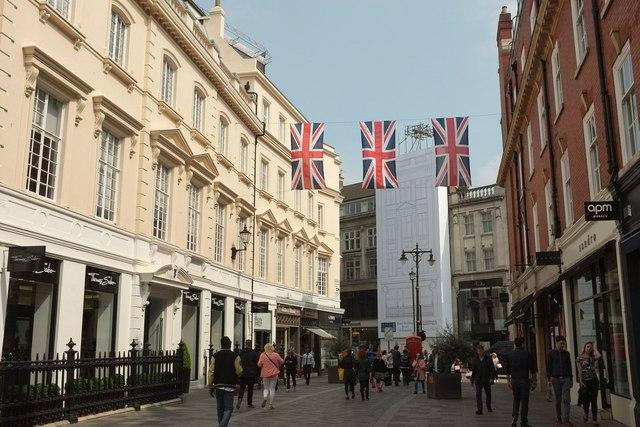 South Molton Street, Mayfair