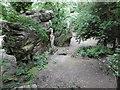 TQ5538 : High Rocks by Marathon