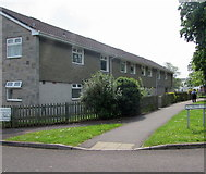 ST3049 : Row of flats, Chichester Close, Burnham-on-Sea by Jaggery