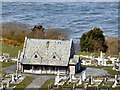 SH7683 : Great Orme cemetery chapel by Gerald England
