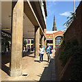 SP3379 : Walking down to the Upper Precinct from Broadgate, Coventry by Robin Stott