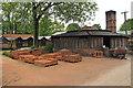 TL8338 : Yard & Kiln at Bulmer Brick and Tile  by Roger Jones