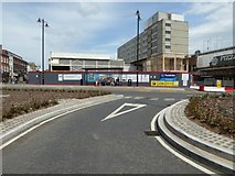 SO8554 : Work continues on Cathedral Roundabout by Philip Halling