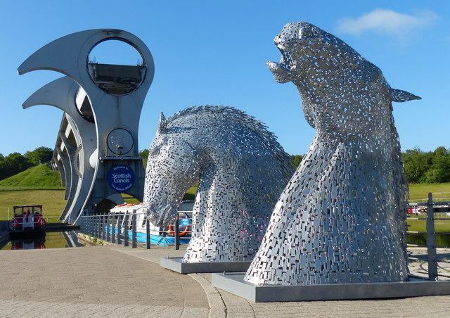 Kelpies Maquettes At The Falkirk Wheel 169 Mat Fascione