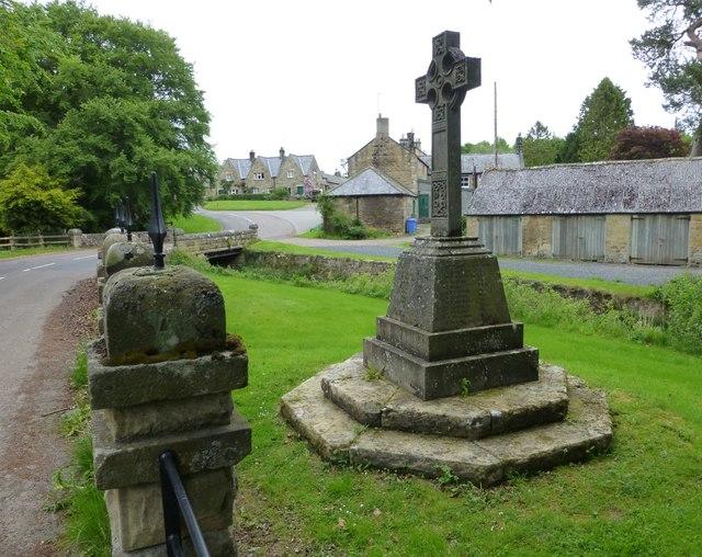 War Memorial, Netherwitton