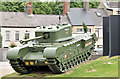 J4187 : Churchill tank, Carrickfergus (June 2016) by Albert Bridge