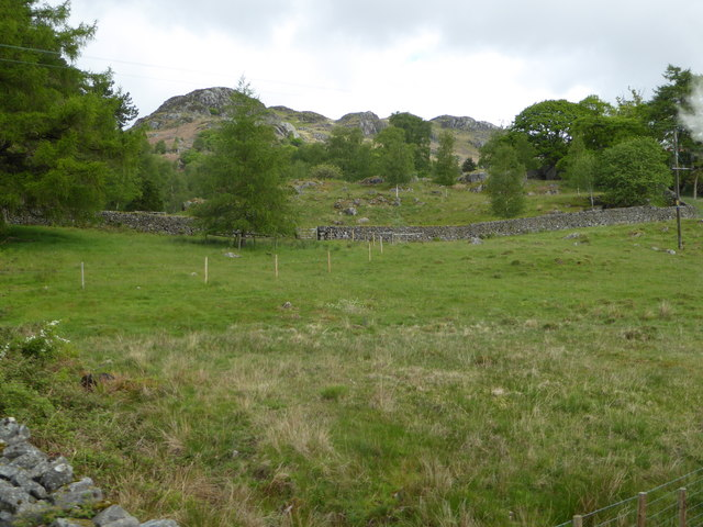 Fell End from the Ravenglass and Eskdale Railway