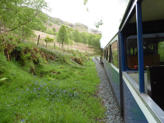 Ravenglass and Eskdale Railway near Fisherground Station