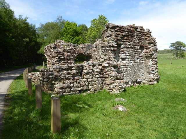 The remains of the Roman Bath House south of Ravenglass