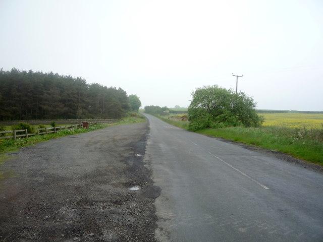 Heading east, Kiln Pit Hill