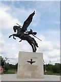SK1814 : National Memorial Arboretum: Parachute Regiments by Stephen Craven