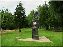 SK1814 : National Memorial Arboretum: the Not Forgotten Association by Stephen Craven