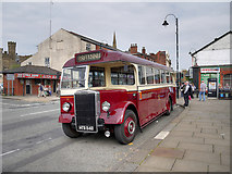 SD8010 : Vintage Bus at Bolton Street Station by David Dixon